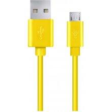 ESPERANZA MICRO USB 2.0 A-B M/M 1.0m kollane