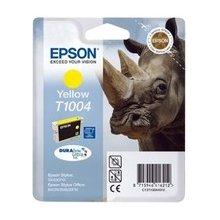 Тонер Epson чернила T100 жёлтый DURABrite...