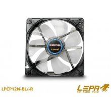 LEPA, Chopper series 120mm case cooling RED...