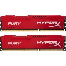 Mälu HyperX DDR3 Fury 8GB/ 1866 (2*4GB) CL10...