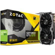 Videokaart ZOTAC GeForce GTX1070 Mini 8GB