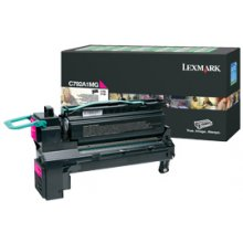 Тонер Lexmark C792A1MG, 6000 pages, Laser...
