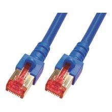 Mcab CAT6-S / FTP-PIMF-LSZH-0.50M-BLU