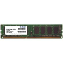 Mälu PATRIOT DDR3 8GB 1600MHz CL11 1.5V