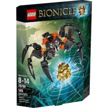 LEGO Bionicle Lord spiders destruction