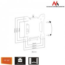 Maclean MC-596 TV Wall Mount Bracket LCD LED...
