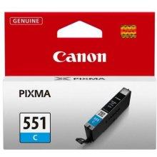 Tooner Canon CLI-551 C, helesinine...