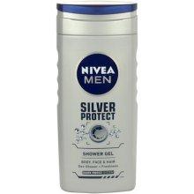 NIVEA Men hõbedane Protect 250ml - dušigeel...