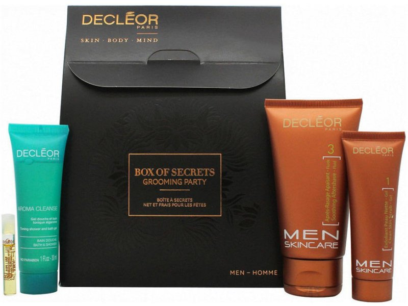 Decleor Box Of Secrets Grooming Party Men Skincare Kit Skincare