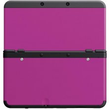 NINTENDO New 3DS чехол Plate pink 019