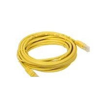 A-LAN Patchcord UTP cat 5e 0.5m, kollane