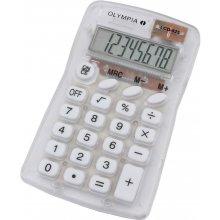 Kalkulaator Olympia LCD 825 transparent