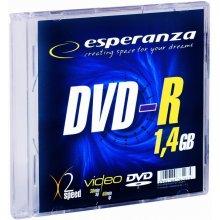 Диски ESPERANZA Mini DVD-R 1,4GB x4 - Slim 1
