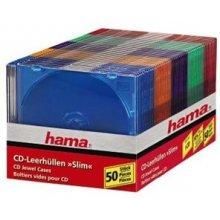 Диски Hama CD-Slim-Box farbig