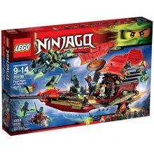 LEGO NINJAGO 70738 Final Flight of Destiny's...