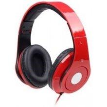 Gembird kõrvaklapid DETROIT punane/MHS-DTW-R