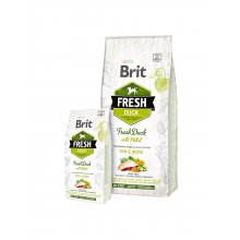 Brit Fresh Duck & Millet Adult Run & Work...