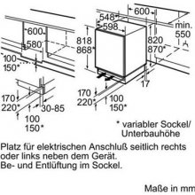 Холодильник BOSCH KUL15A60 встроенный...