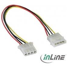 InLine Strom Verlängerung intern Molex 4pol...