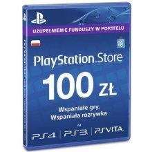 Mäng Sony Playstation Live kaardid Hang 100...