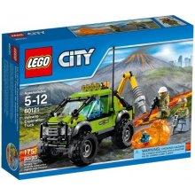 LEGO Volcano scientists car