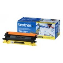 Tooner BROTHER TN-135 Y Toner kollane