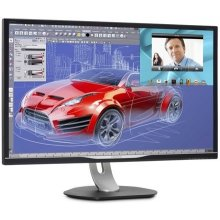 "Monitor Philips LED AMVA 32"" BDM3270QP WQHD..."
