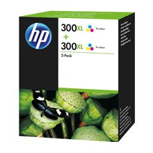 Tooner HP INC. HP 300XL 2-pack Tri-color...
