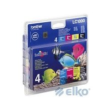 Tooner BROTHER Pack LC1000 CMYK | DCP330C...