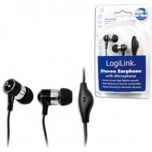 LogiLink - Stereo In-Ear Headset, black