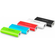 ESPERANZA POWER BANK HADRON 4400mAh punane