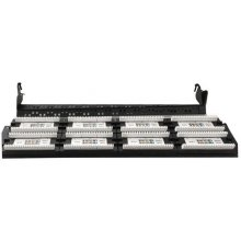 "Gembird 19"" patch panel 48 port 2U cat.6..."
