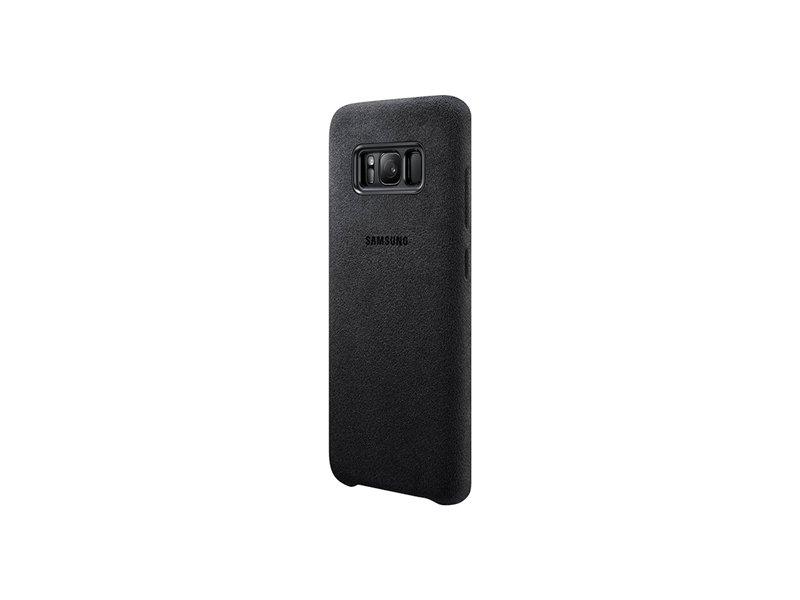 496c0254050 Samsung EF-XG950 Alcantara cover für Galaxy S8 dunkel-gray EF ...