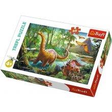 TREFL Puzzle 60 pcs - Dinosaurs migration