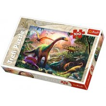 TREFL 100 elements, World of Dinosaurs