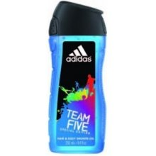 Adidas Team Five, dušigeel 400ml, dušigeel...