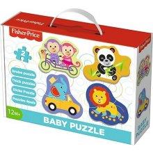 TREFL Puzzle Baby Classic - Happy Animals