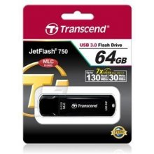 Флешка Transcend 64GB JETFLASH 750, USB 3.0