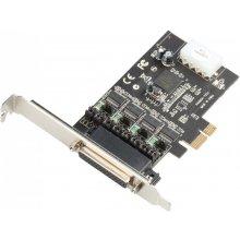 Dicota PCI-E POS Card 4x Serial RS232 koos...
