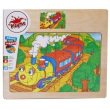 Brimarex Wooden puzzles - Train