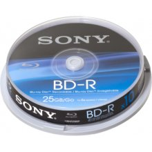 Диски Sony BD-R 25GB 6x 10-Pack