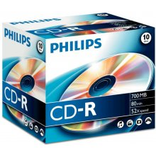 Диски Philips 700 MB/80 min. 52x CD-R...