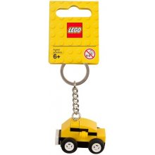LEGO жёлтый toy car keychain