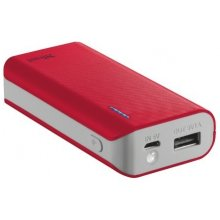 TRUST POWER BANK USB 4400MAH PORTAB./punane...