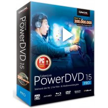 CyberLink PowerDVD 15 Pro Win DVD