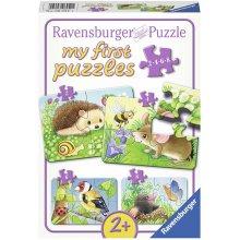 RAVENSBURGER minu esimene puzzle 2-4-6-8 tk