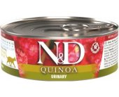 Farmina N&D QUINOA Duck Urinary konserv 80g...