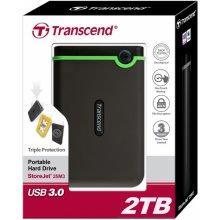 Kõvaketas Transcend väline HDD 2TB USB 3 0...