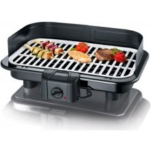 SEVERIN PG2794 Barbecue-Grill must / valge