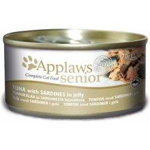 Applaws konserv Senior Jelly Tuna & Sardine...